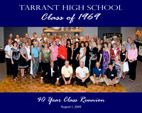 Tarrant High School 40 Year Reunion